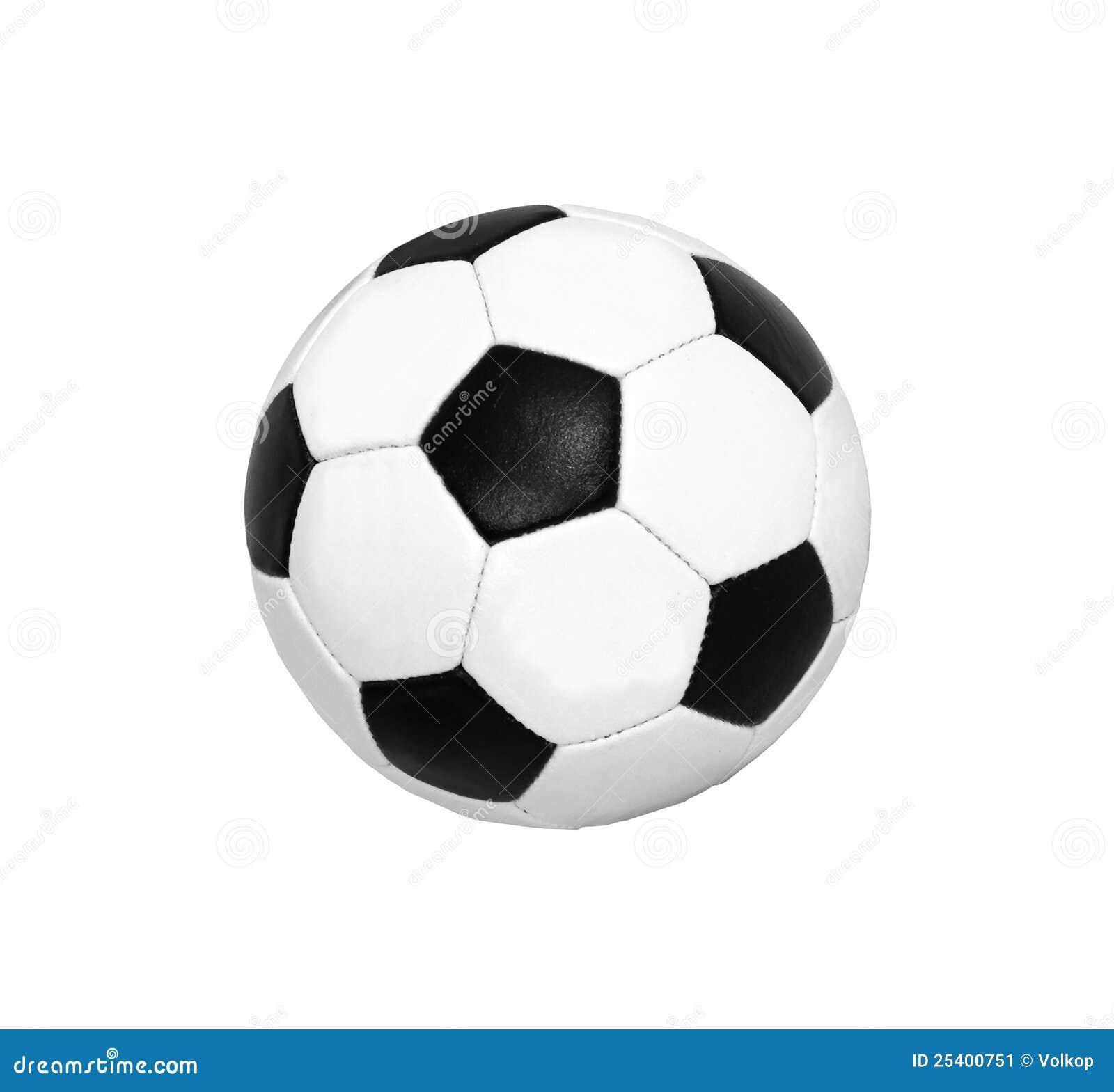 Sfera di calcio (gioco del calcio) isolata
