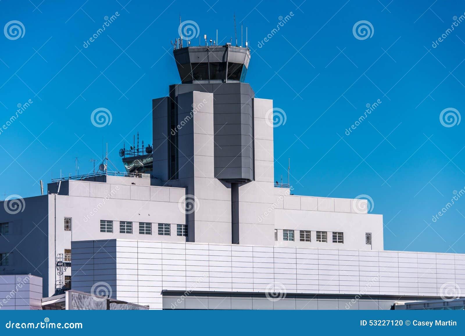 SFO, torre de control del aeropuerto de San Francisco International