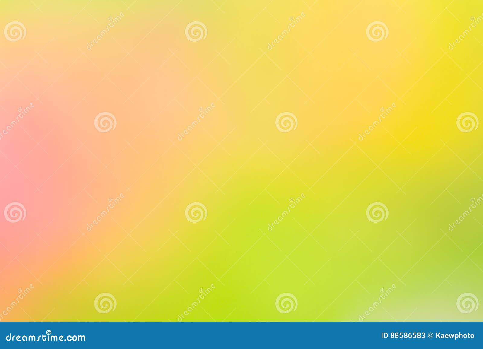 Sfondo Naturale Astratto Giallo E Verde Illustrazione Di Stock