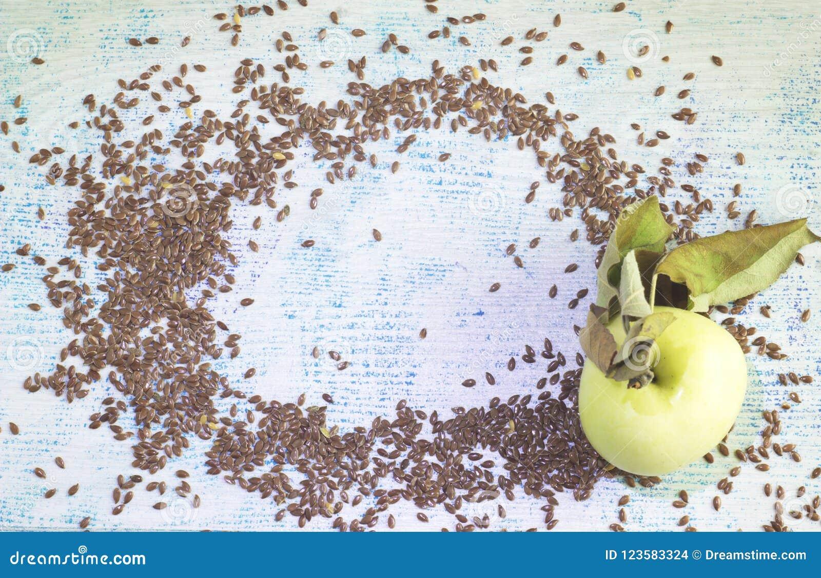 grani di semi di lino per perdita di peso