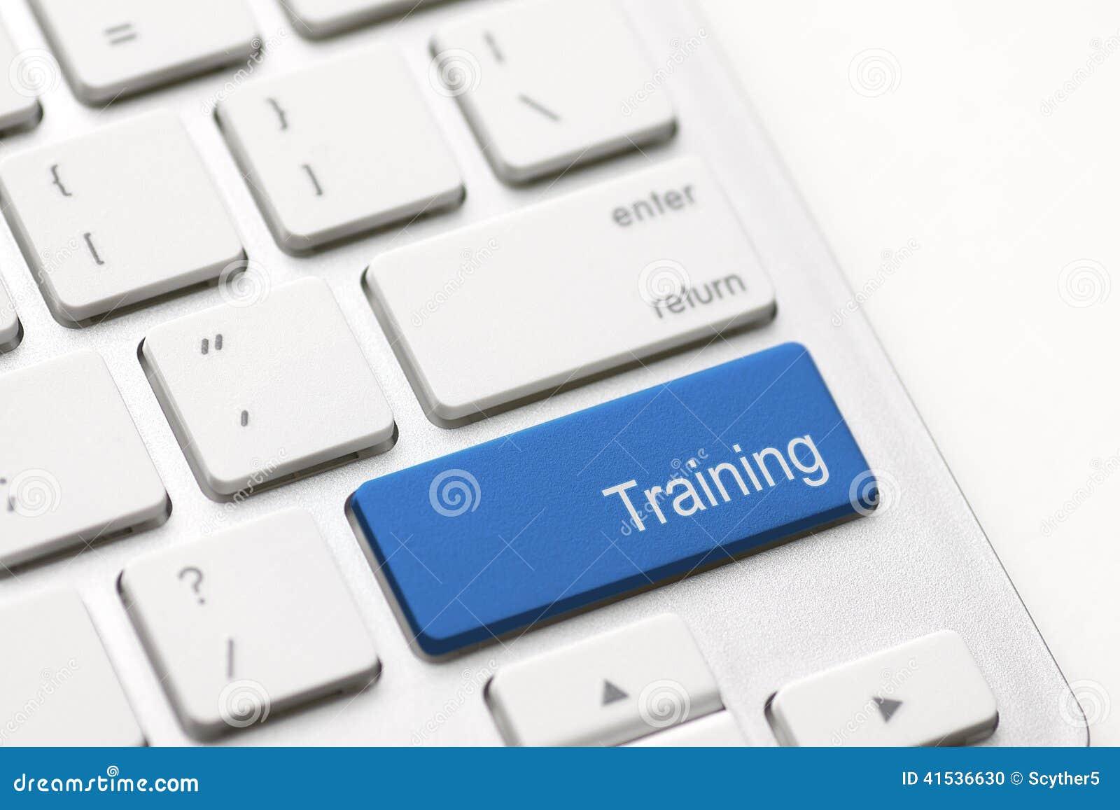 Sformułowania szkolenie na komputerowej klawiaturze