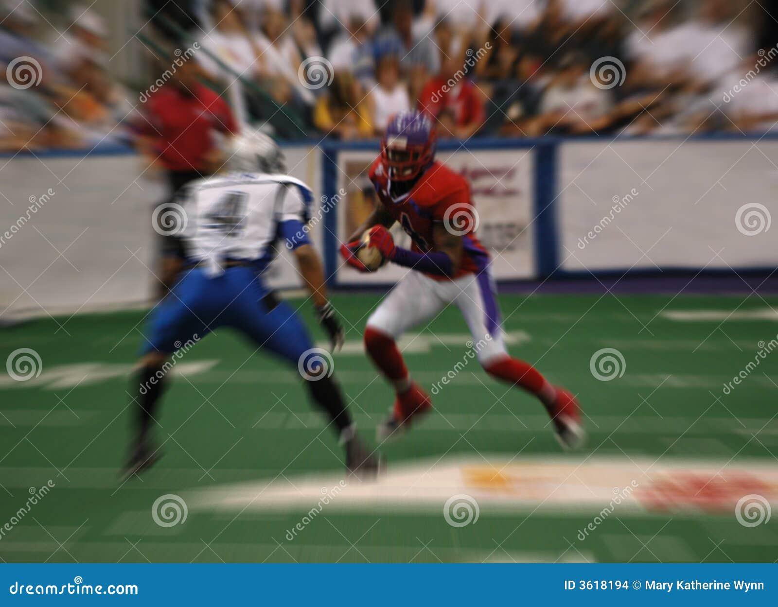Sfuocatura di football americano