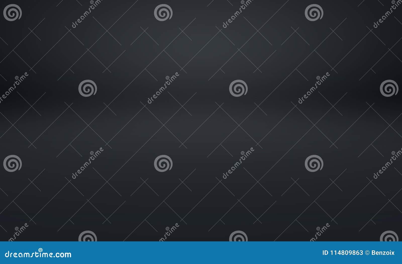 Sfuocatura di lusso astratta grigio scuro e pendenza nera, usata come parete dello studio del fondo per esposizione i vostri prod