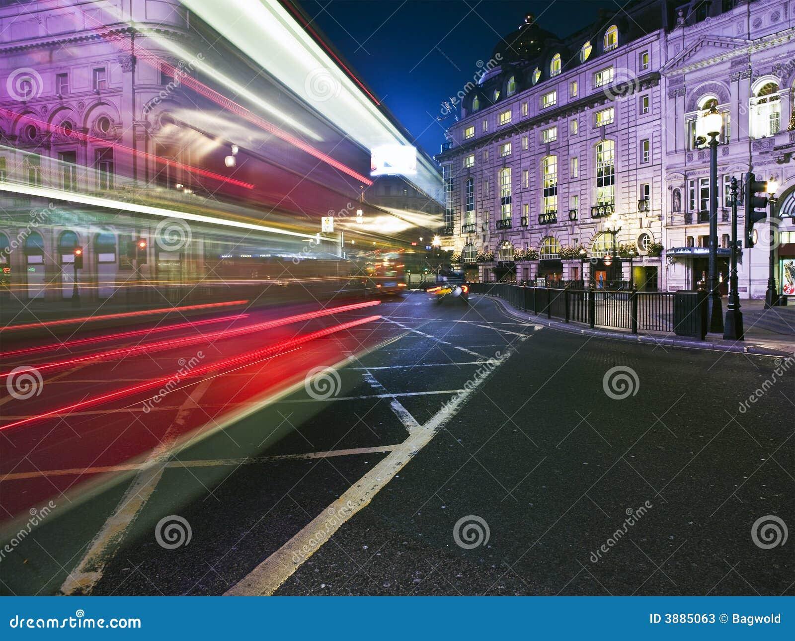 Sfuocatura di velocità del bus di Londra
