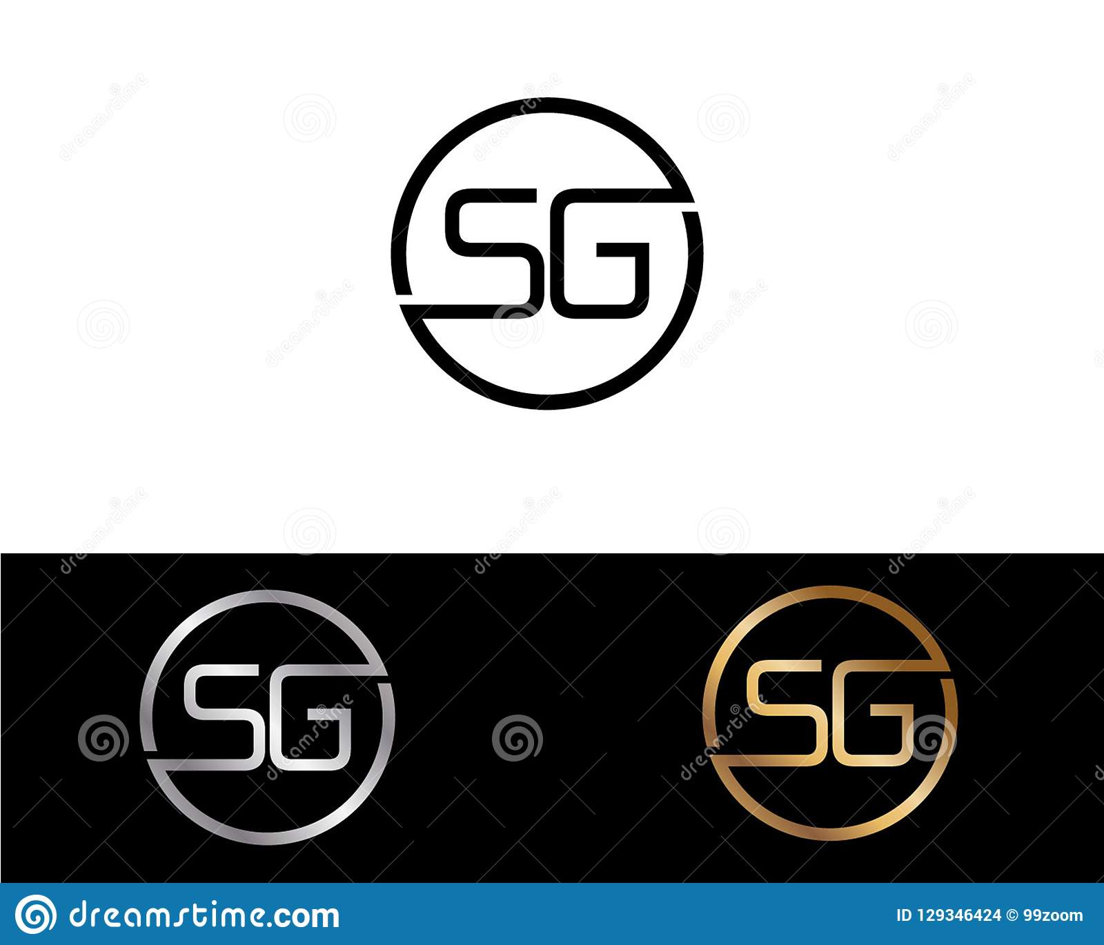 gold and white logo design