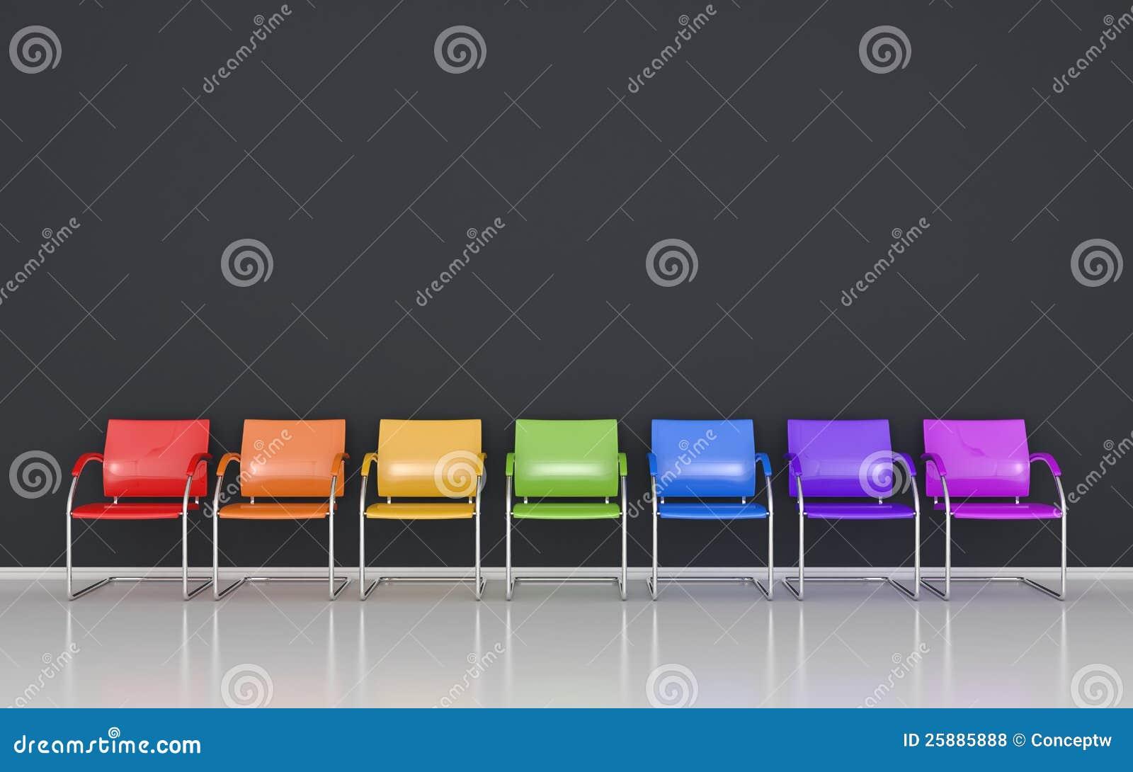Sgabelli colorati fotografie stock libere da diritti for Sgabelli colorati