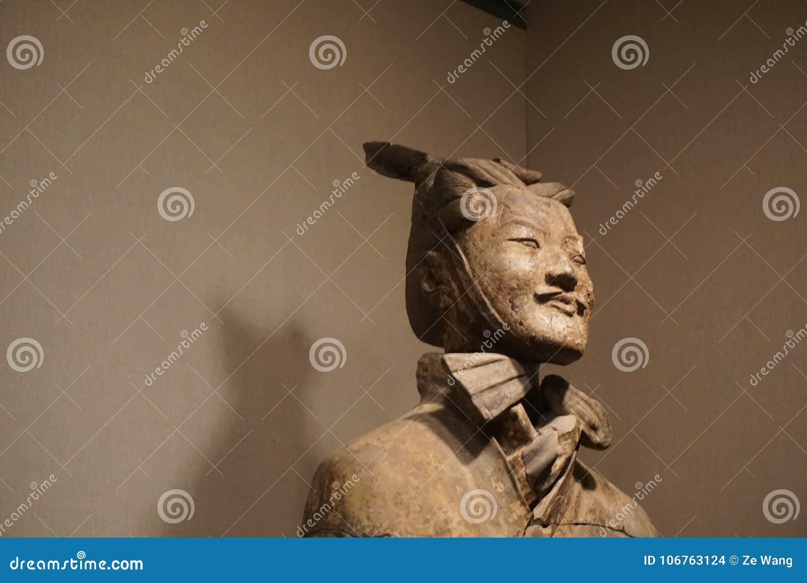 Shaanxi History Museum Terrocotta Soldier