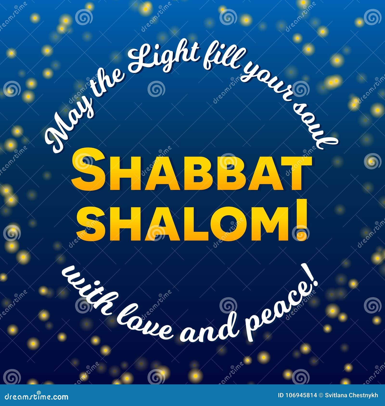 Shabbat shalom candles greeting card lettering starry night sky download shabbat shalom candles greeting card lettering starry night sky background stock vector illustration m4hsunfo