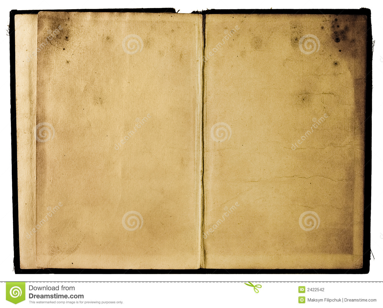 Photo Page: Shabby Book Pages Stock Photo. Image Of Pattern, Classic
