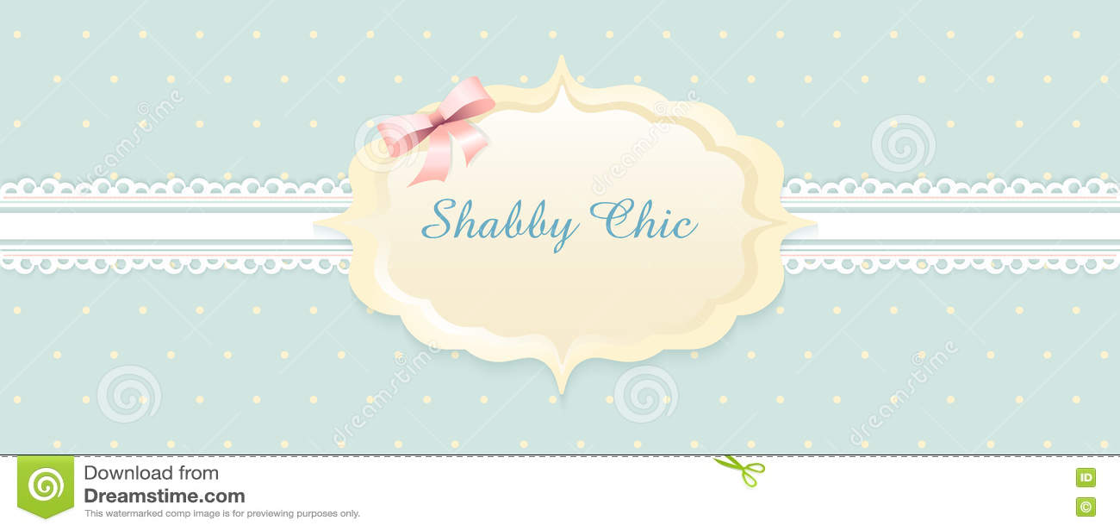 Shabby Chic. Congratulations Card. Classic Romantic Style. Stock ...