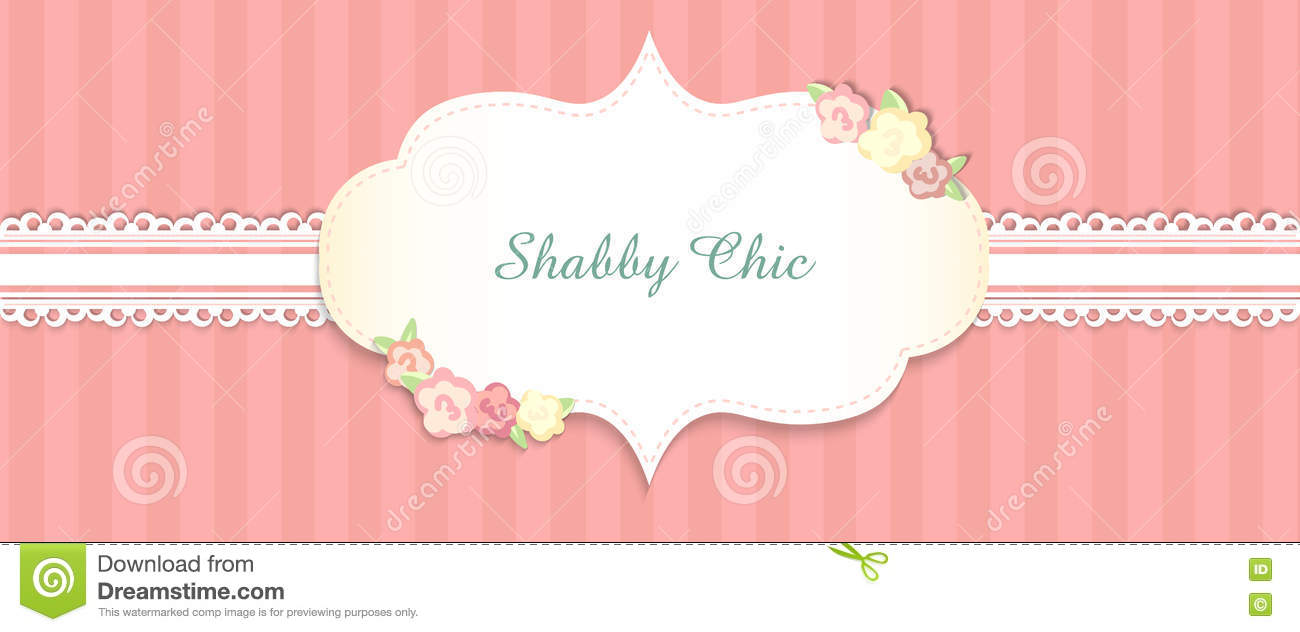 Shabby Chic Congratulations Card
