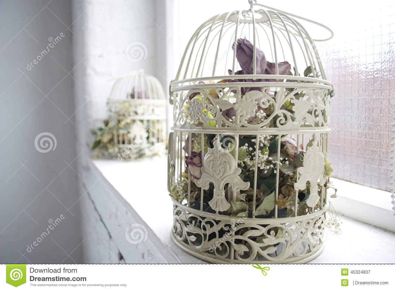 Shabby Chic Decorating Shabby Chic Decor Stock Photo Image 45324837