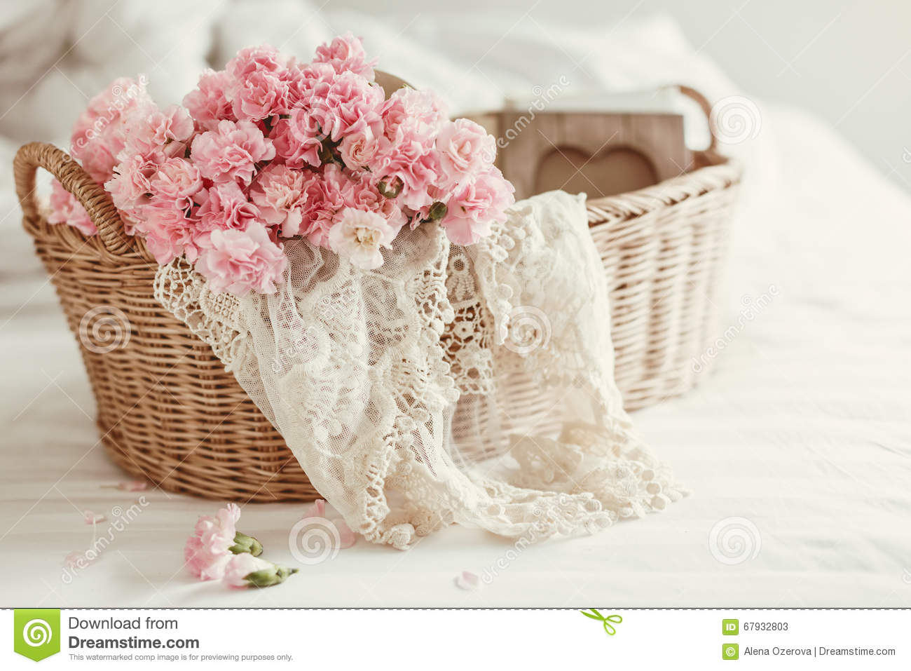 Shabby chic flowers stock image. Image of love, bedroom - 67932803