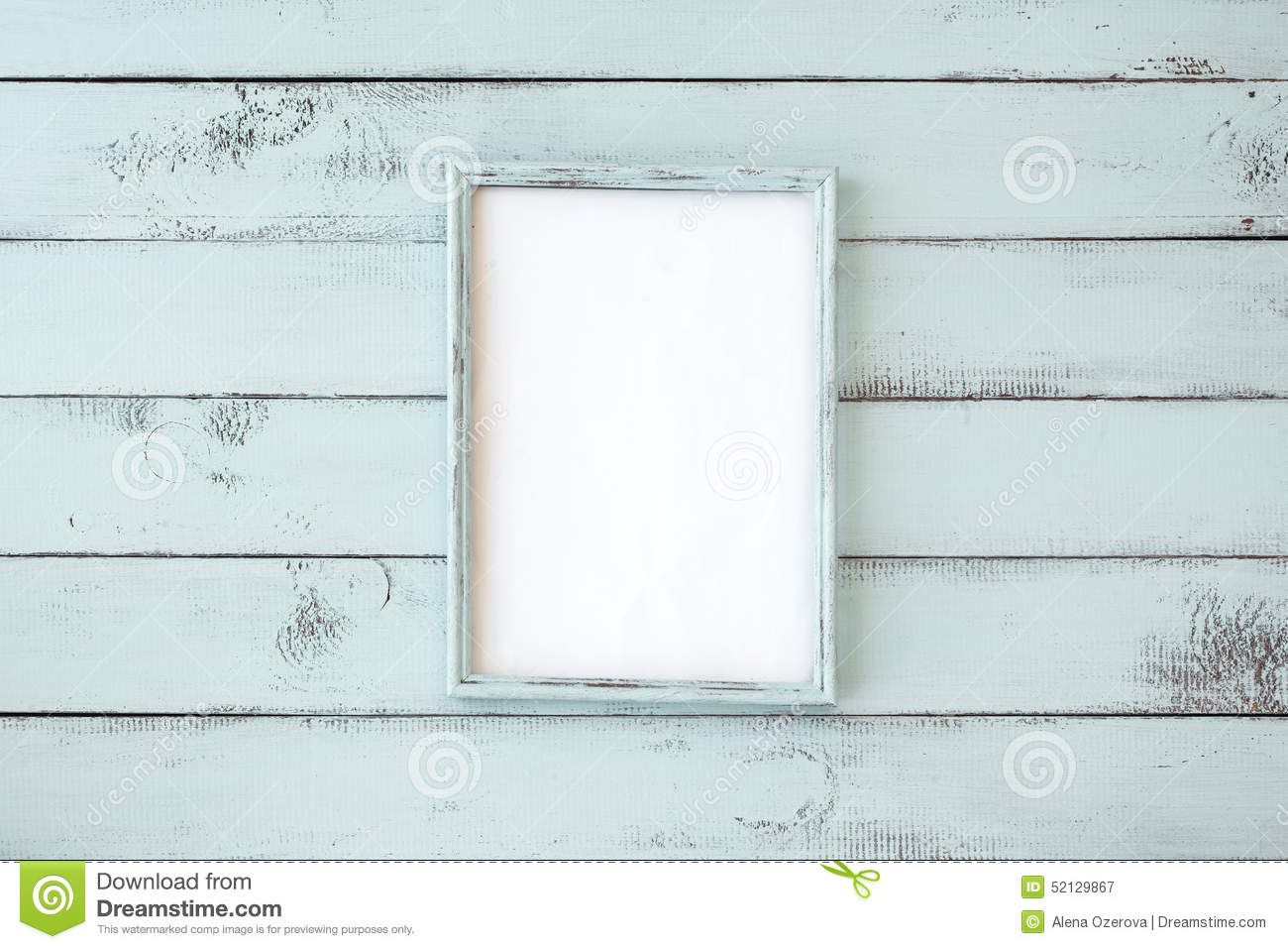 Shabby chic photo frame stock image. Image of copy, frames - 52129867