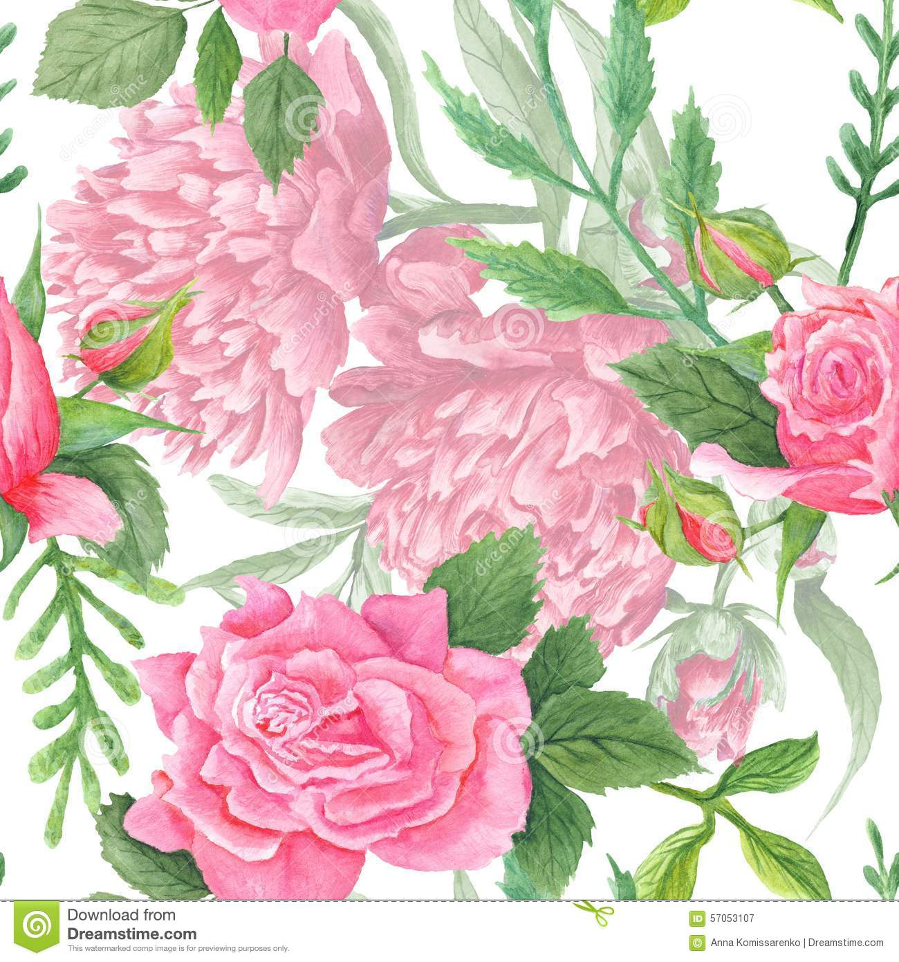 Peony flower isolated on white stock vector 368014568 shutterstock - Shabby Chic Watercolor Peony And Rose Pattern Stock Illustration 1300x1390
