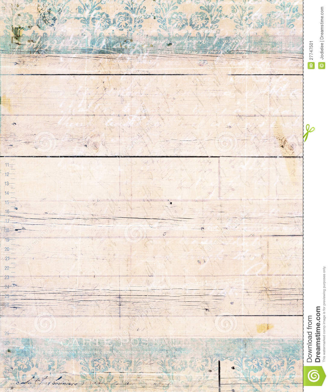 Shabby Chic Wood Background Stock Image Image 27747501