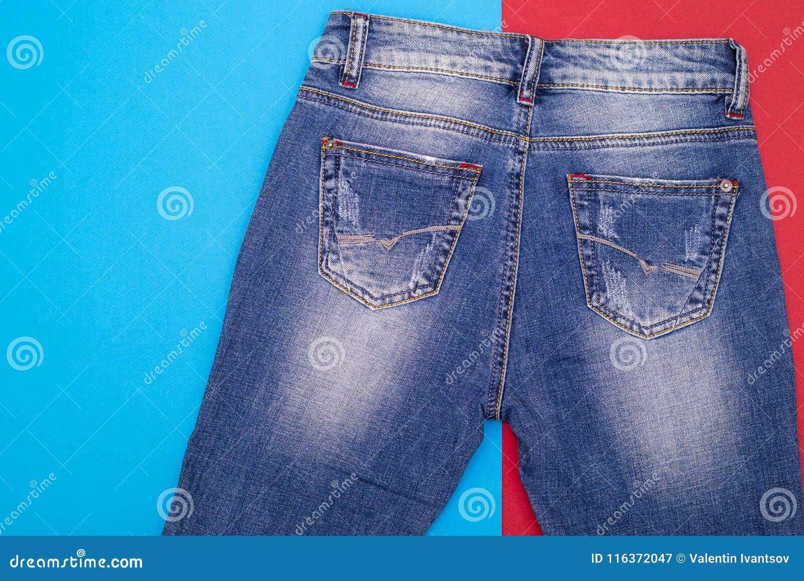 73c92fe50fce Shabby jeans light blue stock image. Image of object - 116372047