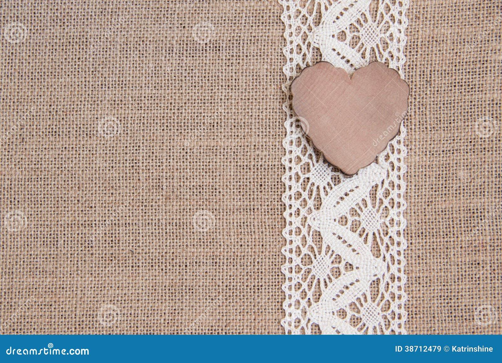 burlap wallpaper border