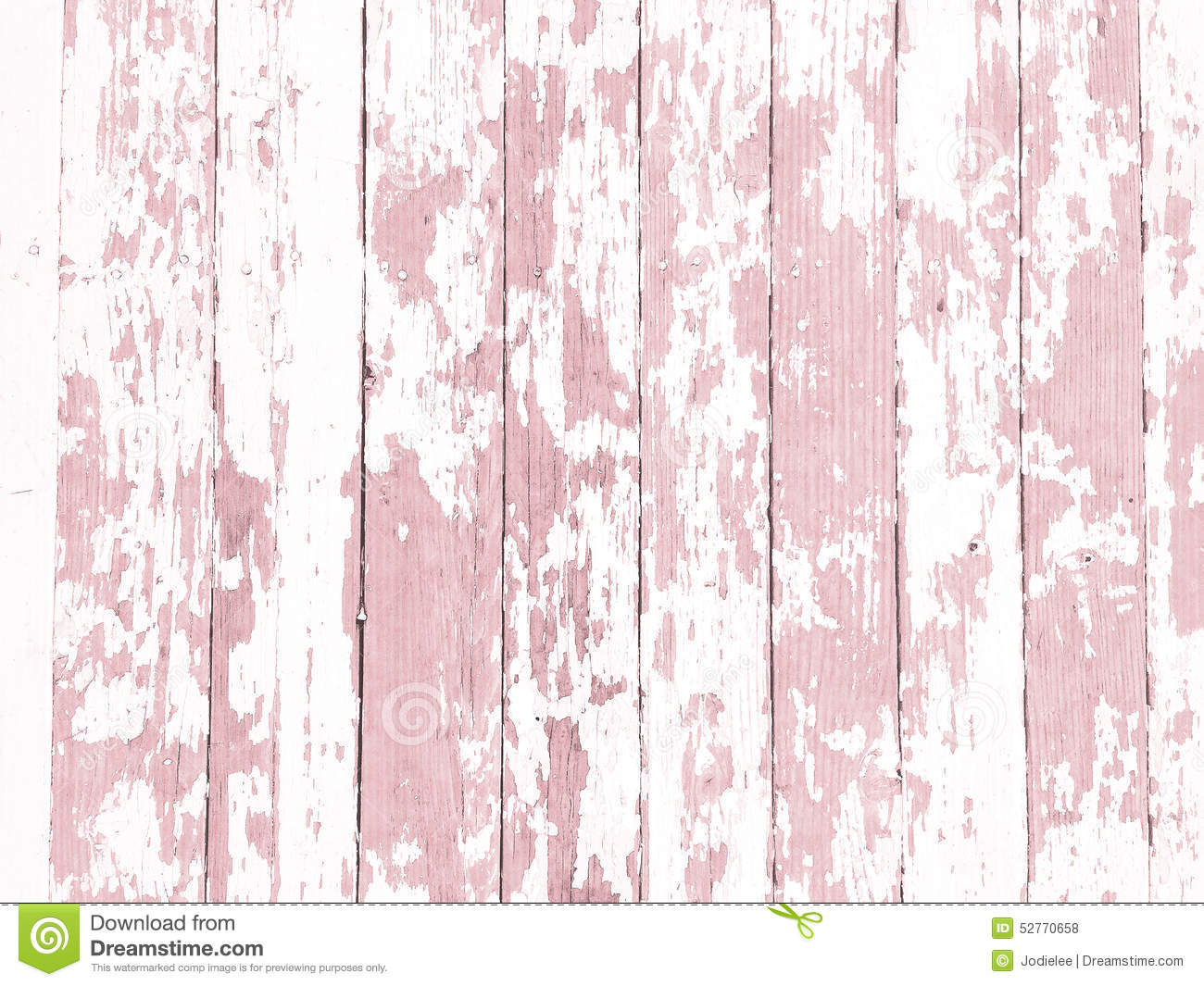 Shabby Wood Grain Texture White Washed With Distressed Peeling Paint