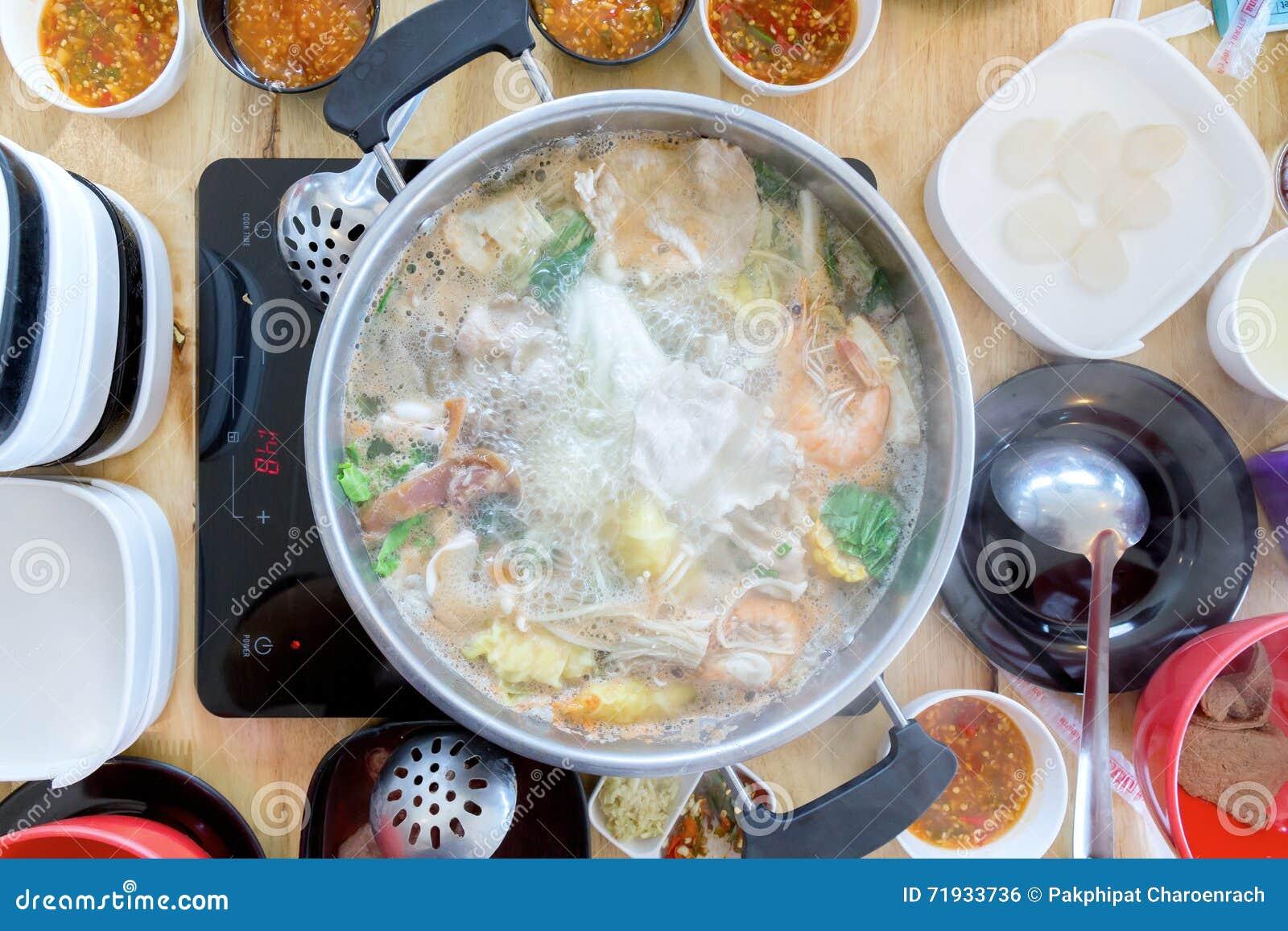 Shabu Shabu и Sukiyaki, японская еда
