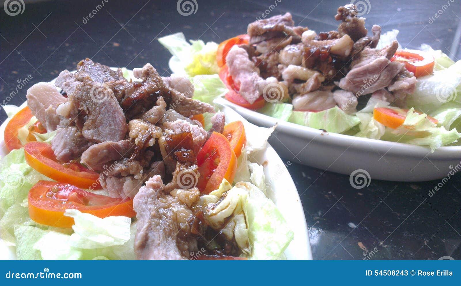 Shabu-shabu avec de la sauce à umeboshi