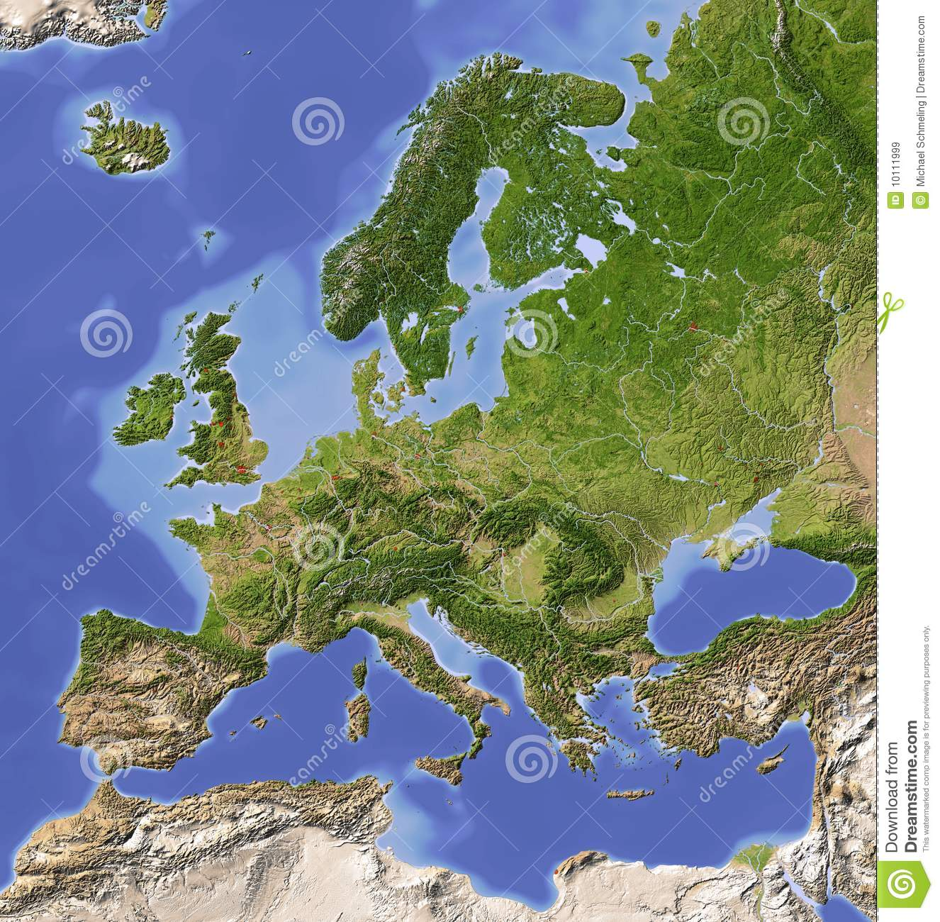 Topographic Map Of Europe Images Galleries With A Bite