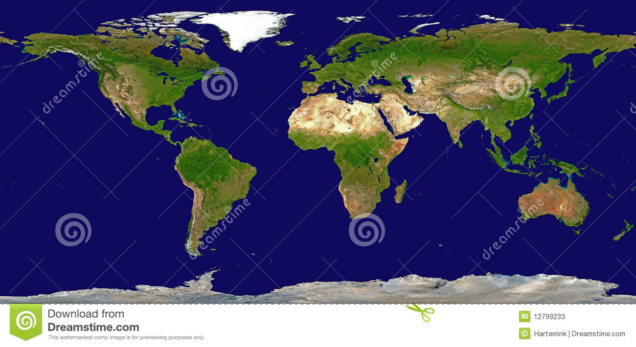 Shaded relief map of the world stock illustration illustration of shaded relief map of the world gumiabroncs Images