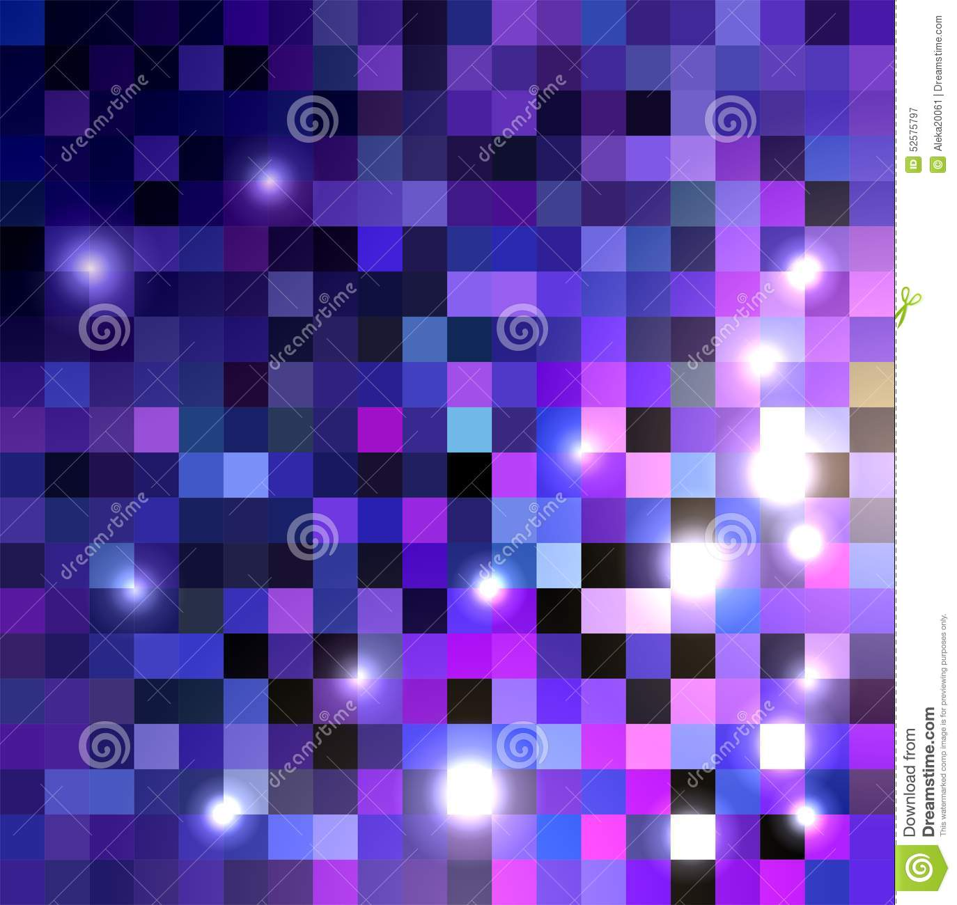 Shades Of Purple Color Crystallization Texture Stock