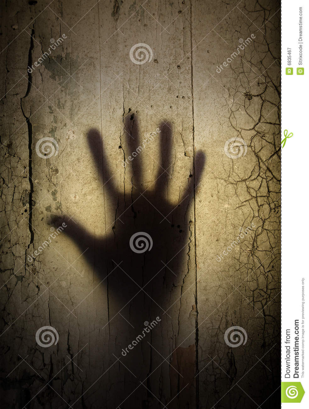 Shadow Of Horror Hand Royalty Free Stock Photography ...