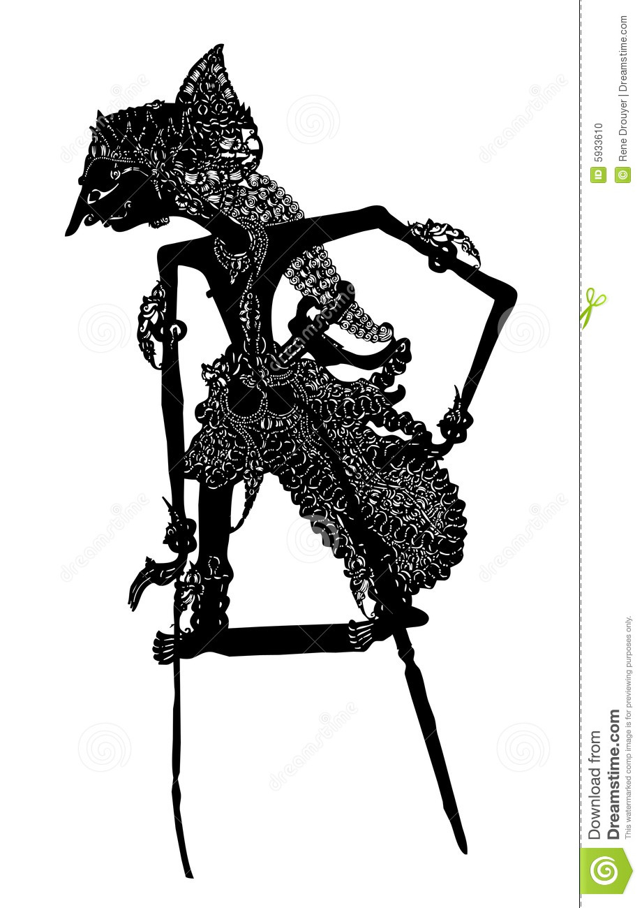 Shadow Puppet Vector Stock Photo Image 5933610