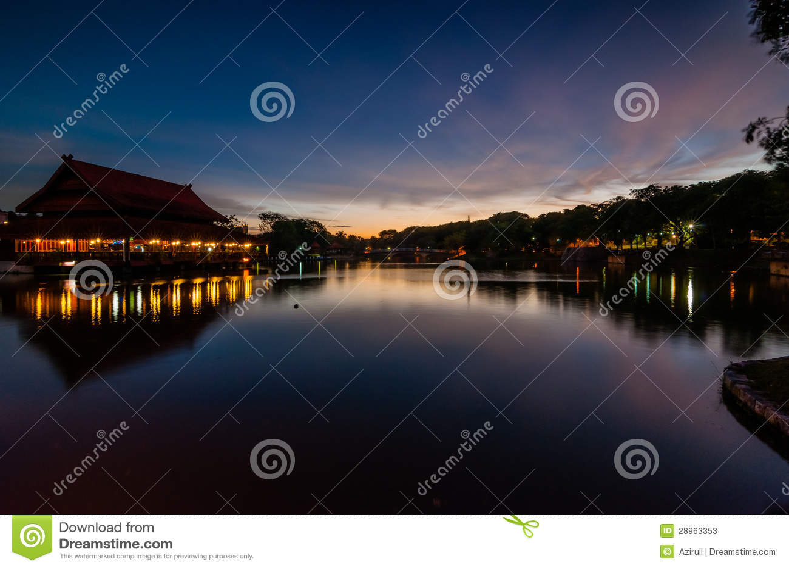 Shah aLam jezioro