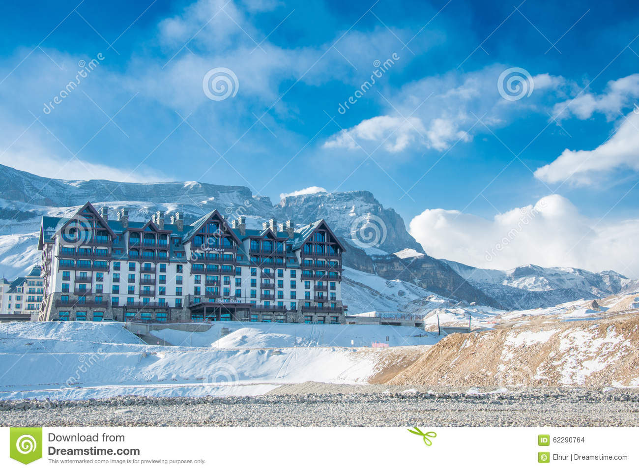 Shahdag Azerbaijan  City new picture : 2015: Tourist Hotels on February 8 in Azerbaijan, Shahdag. Shahdag ...
