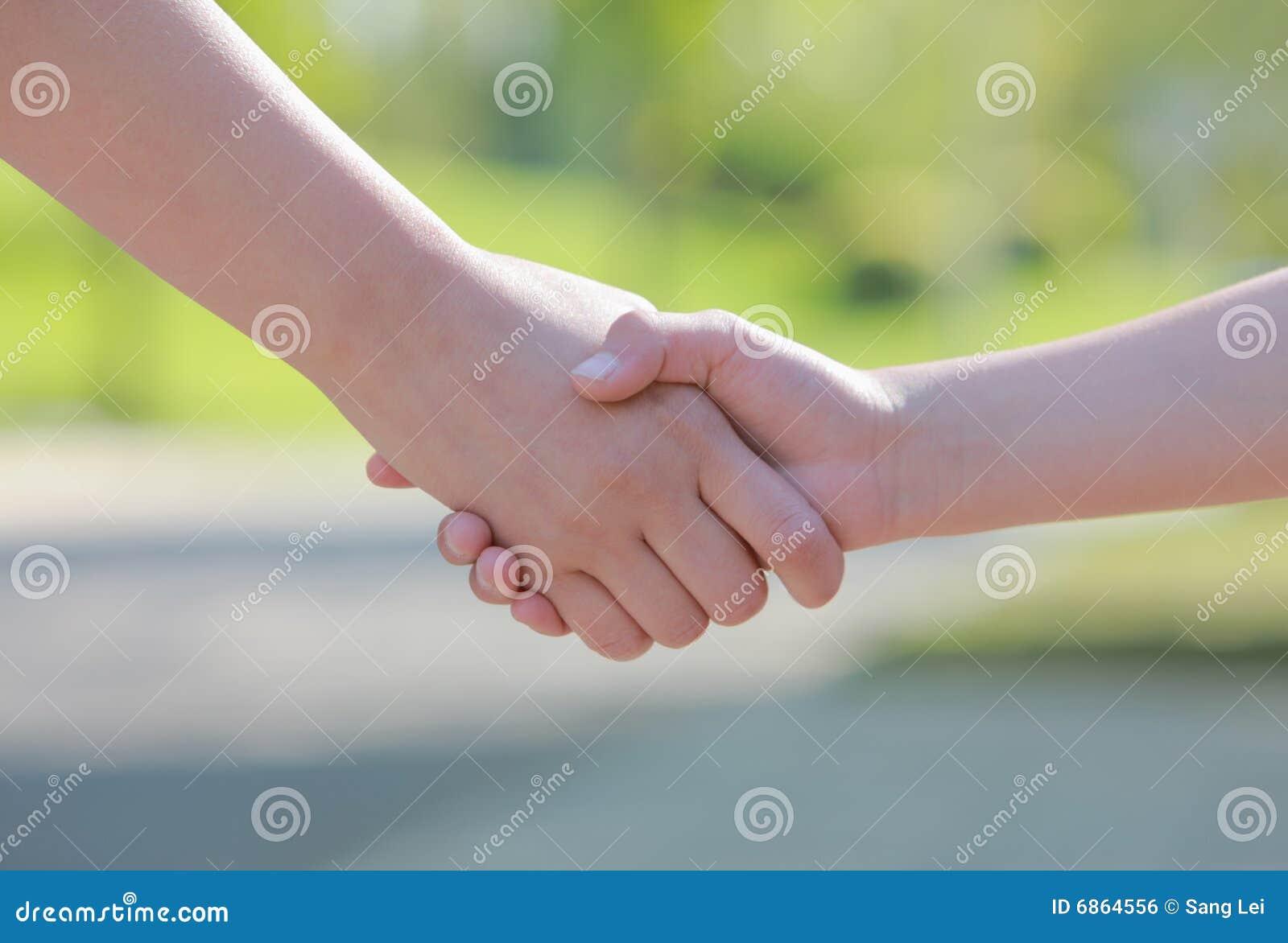 Shake рук