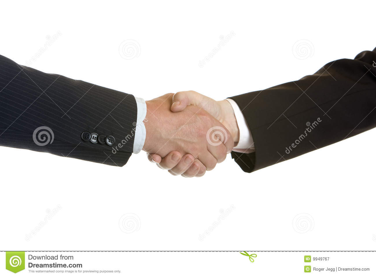 Shake hands of businessmen