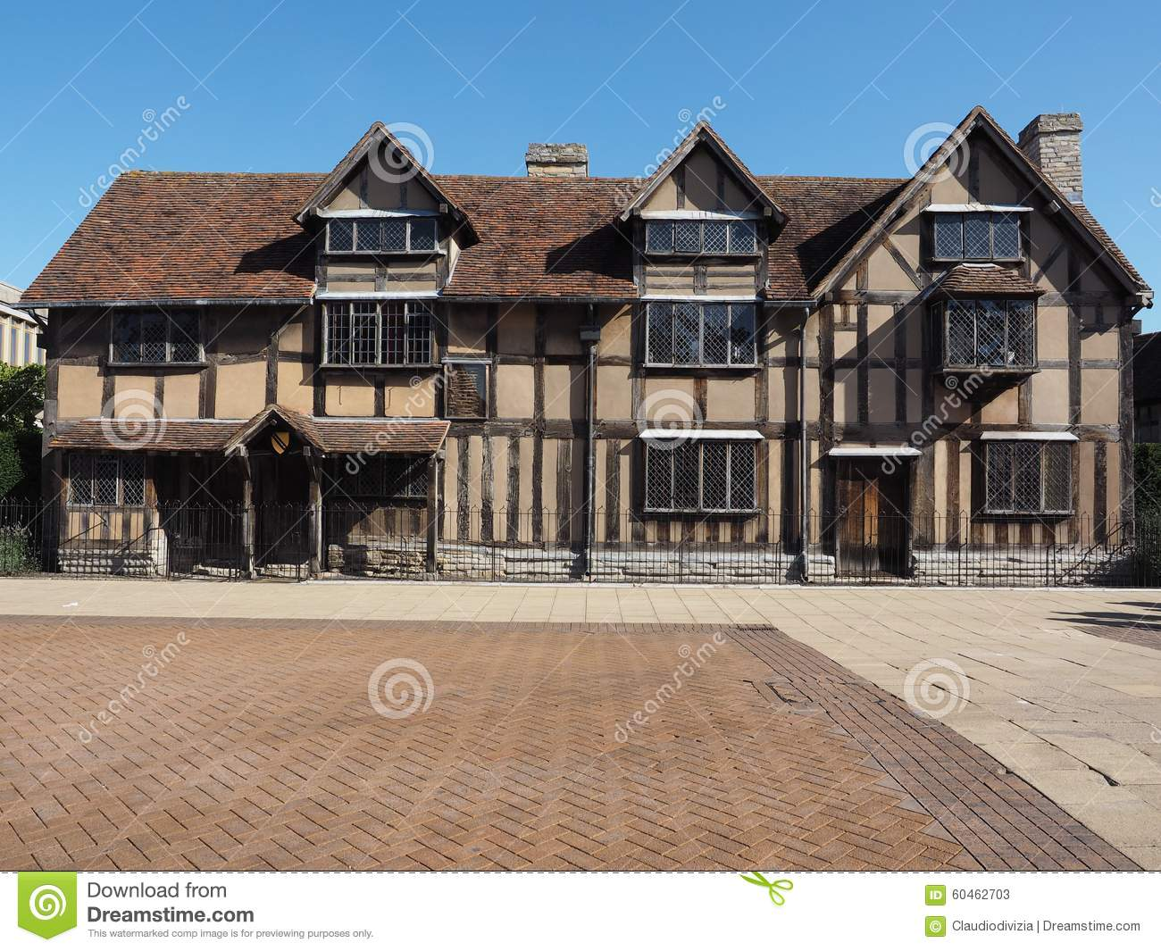 Shakespeare Birthplace In Stratford Upon Avon