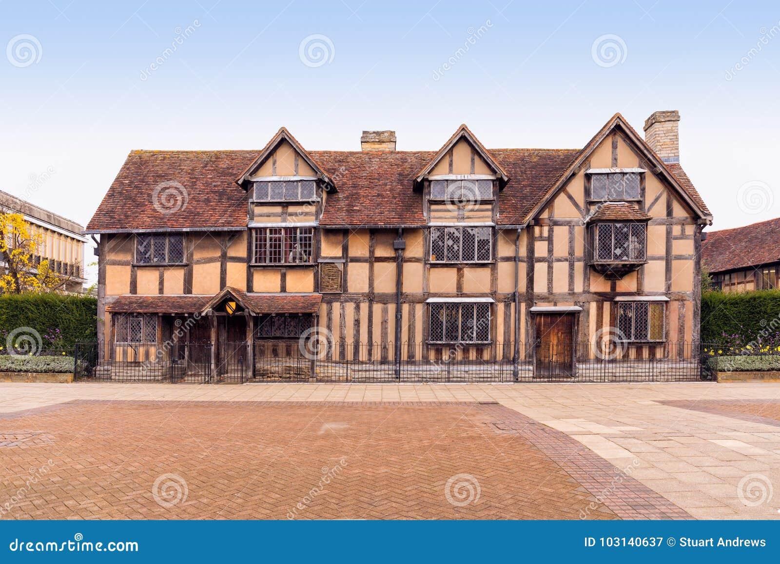 Shakespeare-` s Geburtsort, Stratford nach Avon, Warwickshire, England