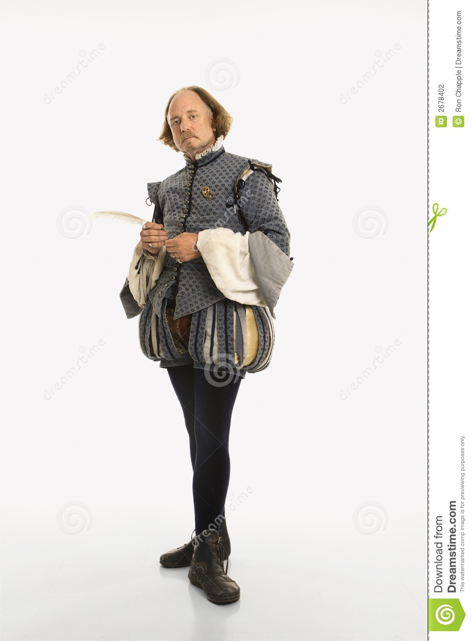 William Shakespeare costume