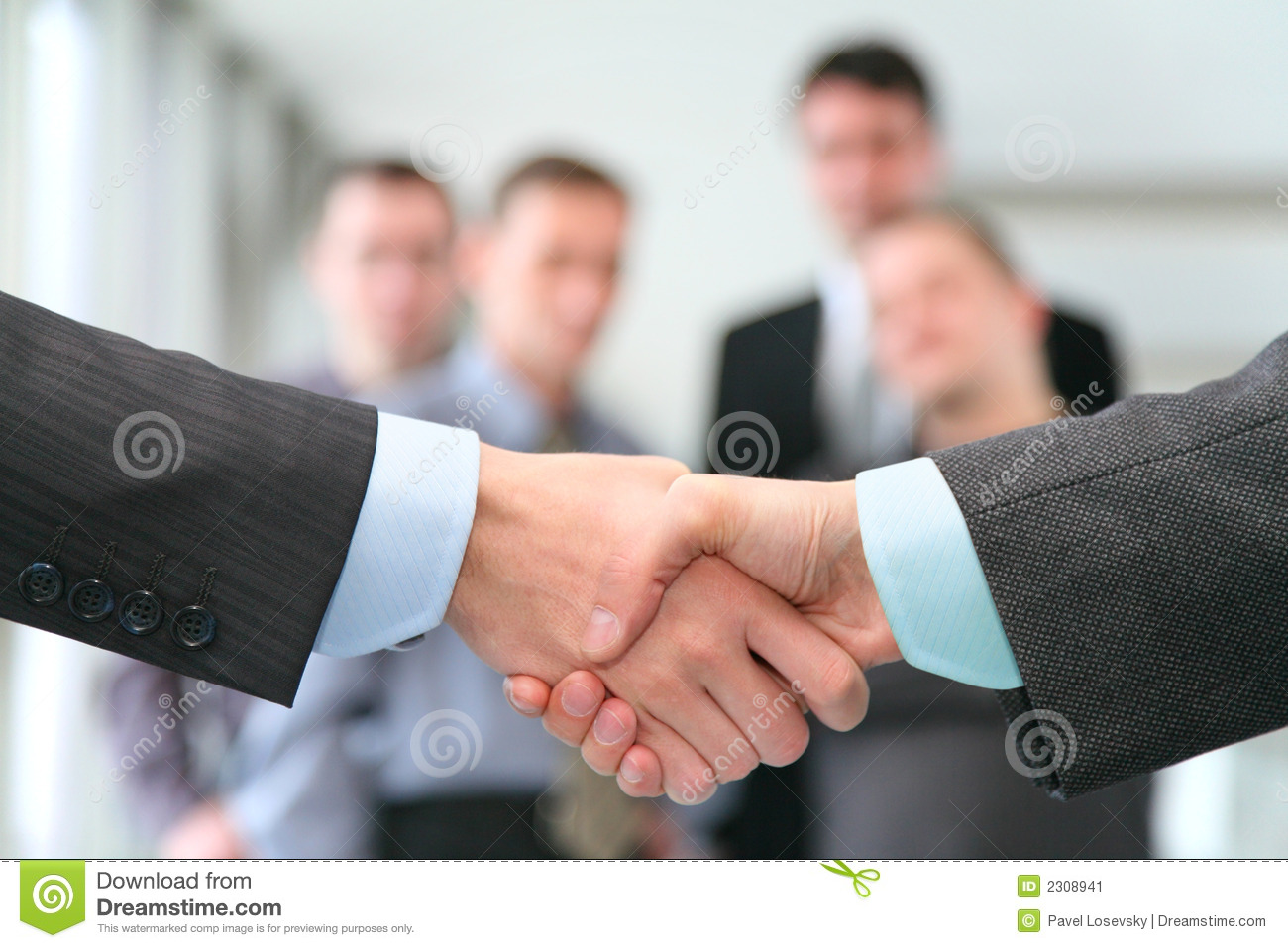 Download Shaking hands stock image. Image of business, cooperation - 2308941
