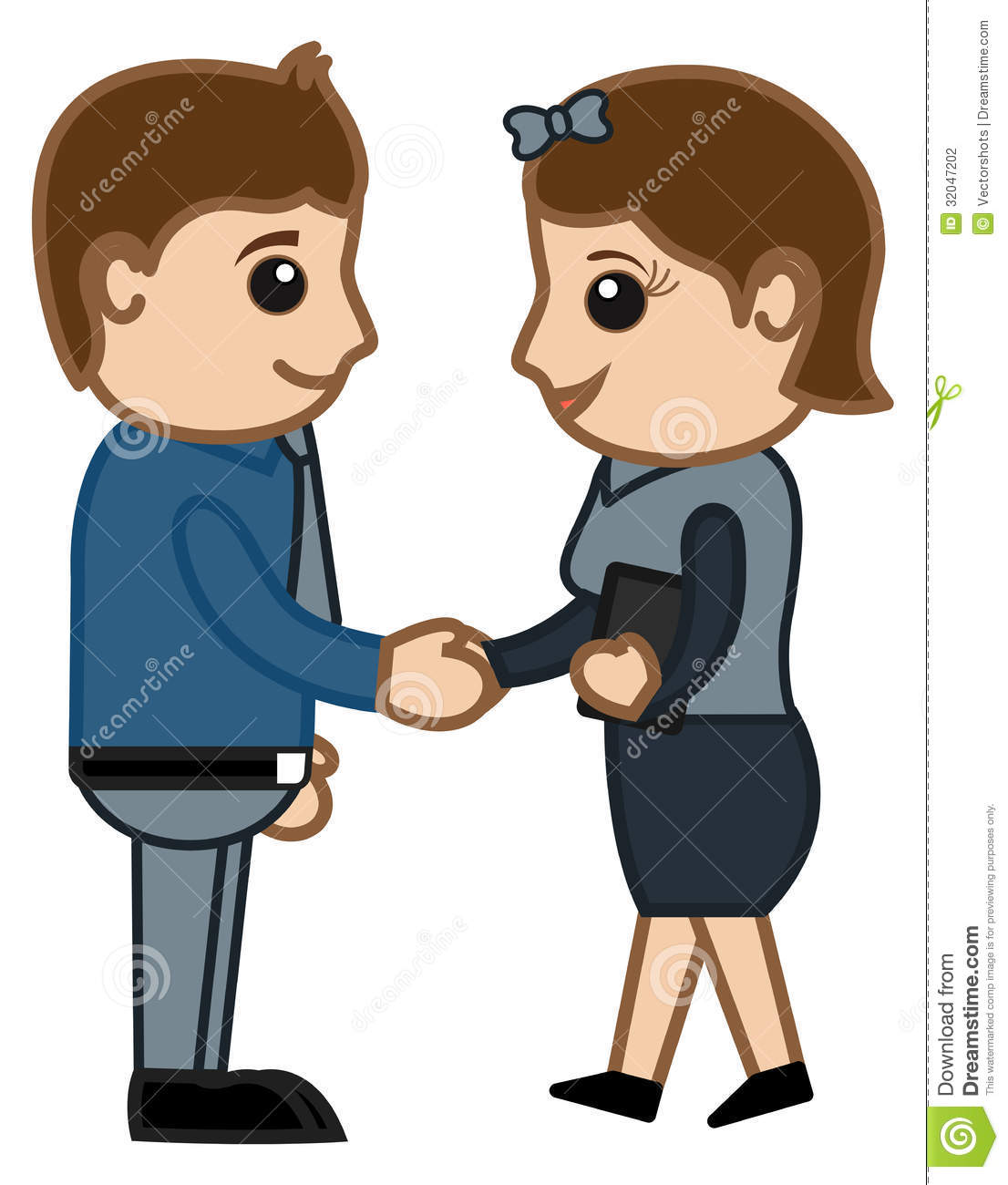 People Shaking Hands Clipart | Info