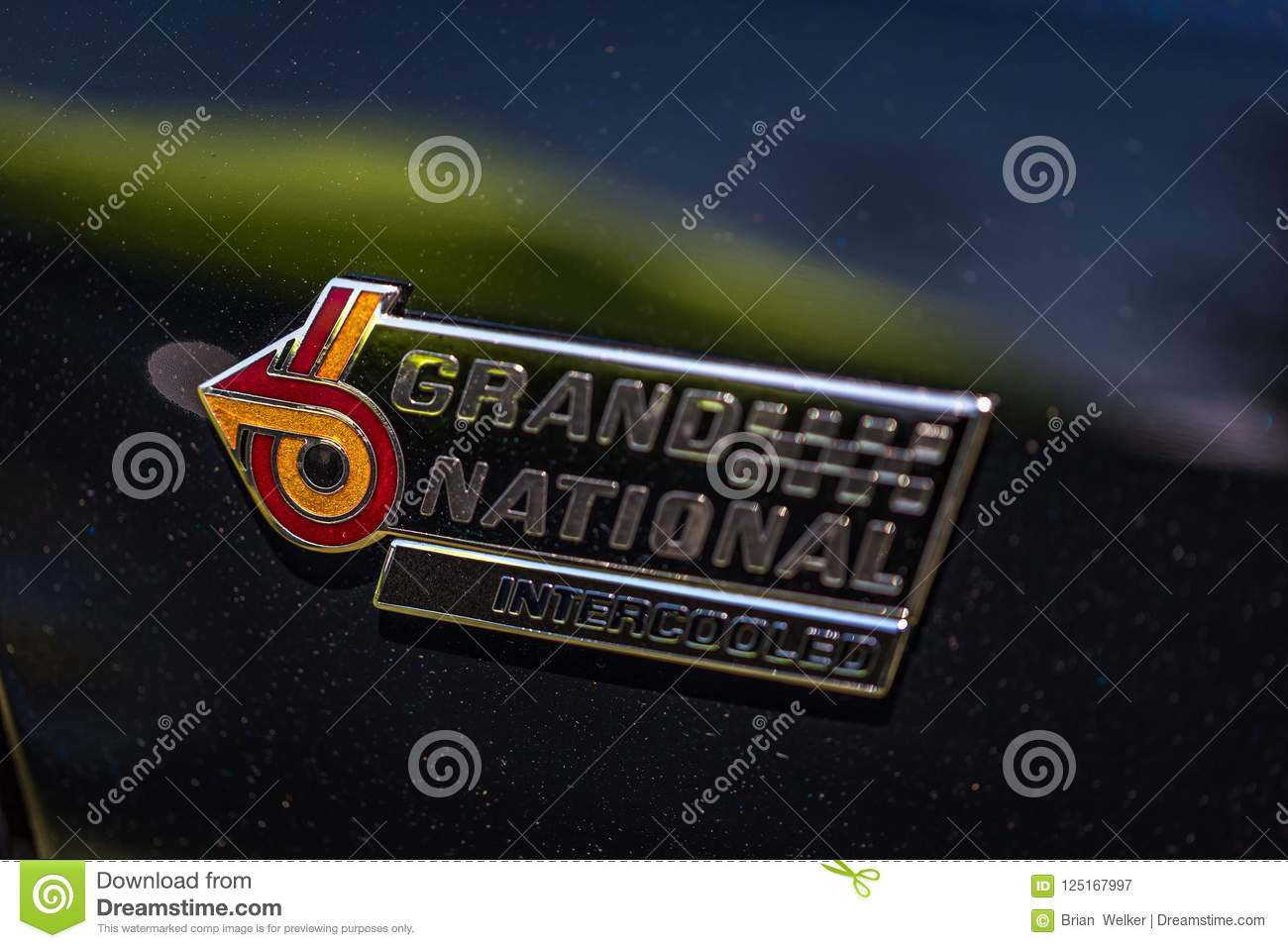 1987 Buick Grand National Emblem Editorial Photography Image Of