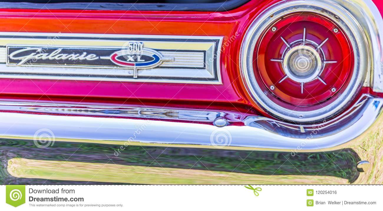 1964 Ford Galaxie 500 Xl Convertible Editorial Photo Image Of
