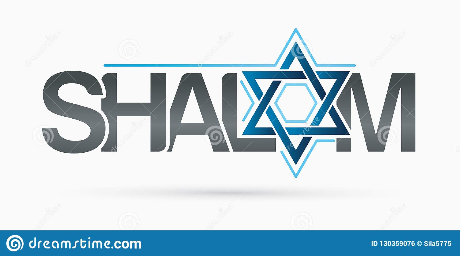 Shalom Text Design Shalom Is A Hebrew Word Meaning Peace