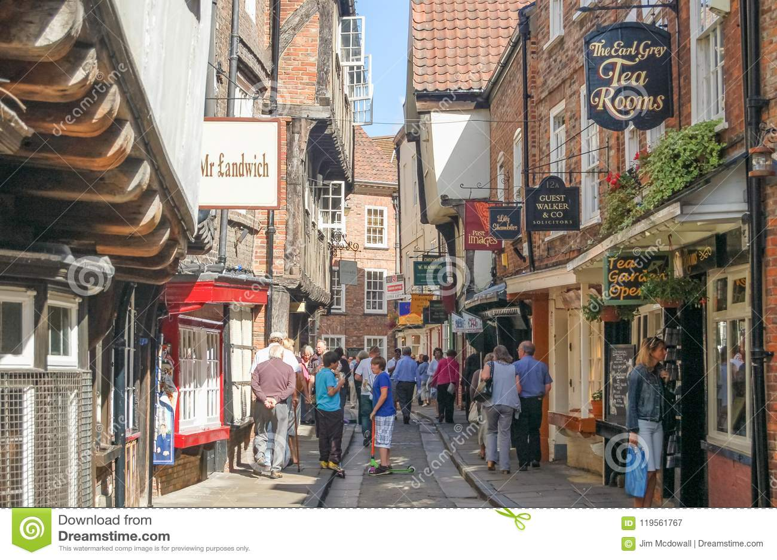 the shambles york england editorial photography image of shopping