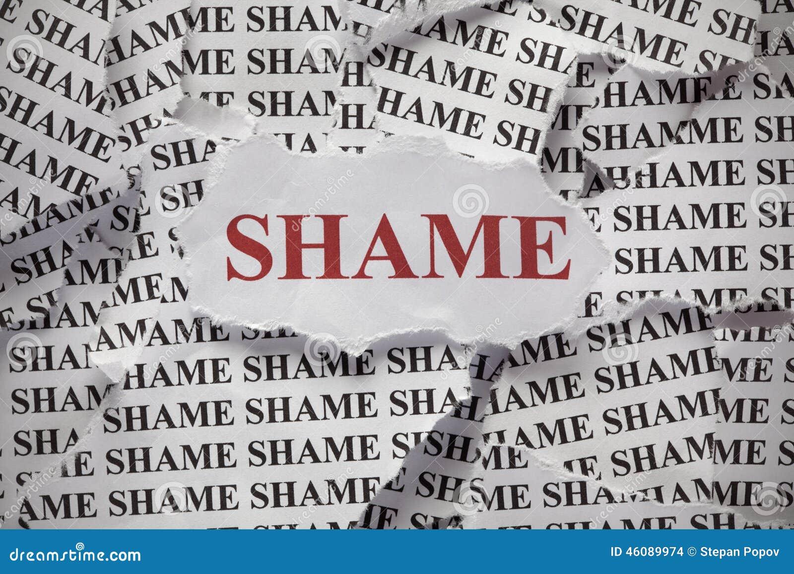 shame stock photo  image of heap  part  paper  guilt