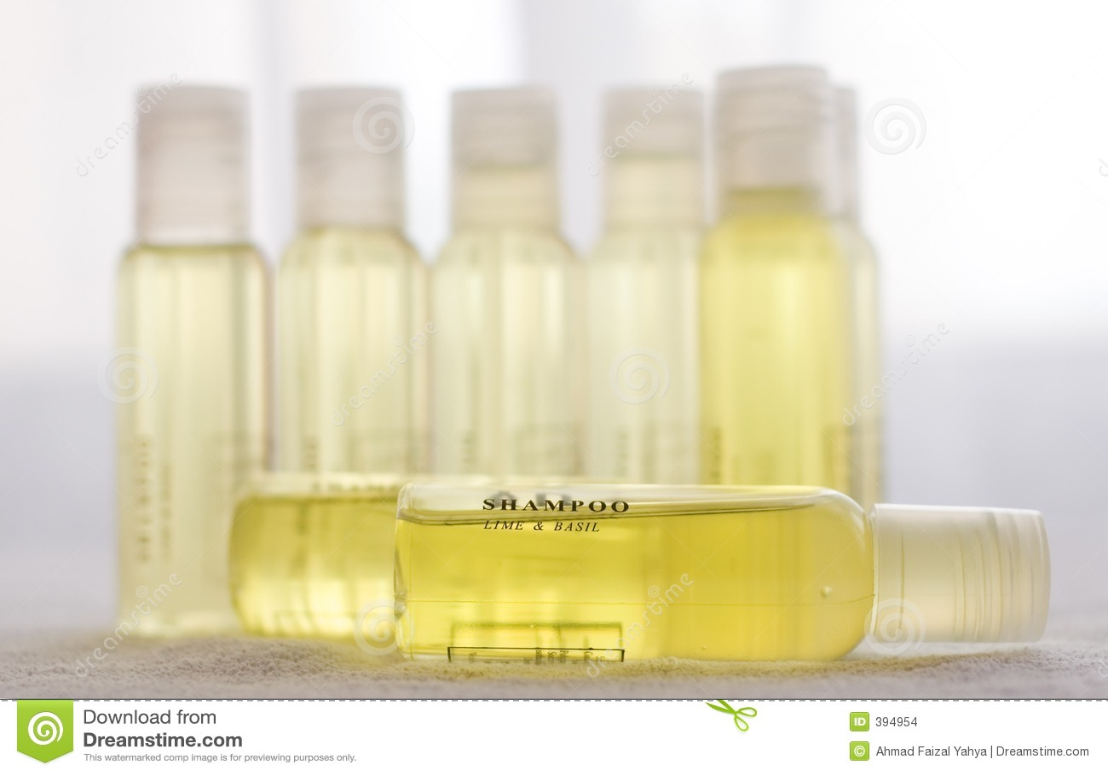 Shampooing jaune