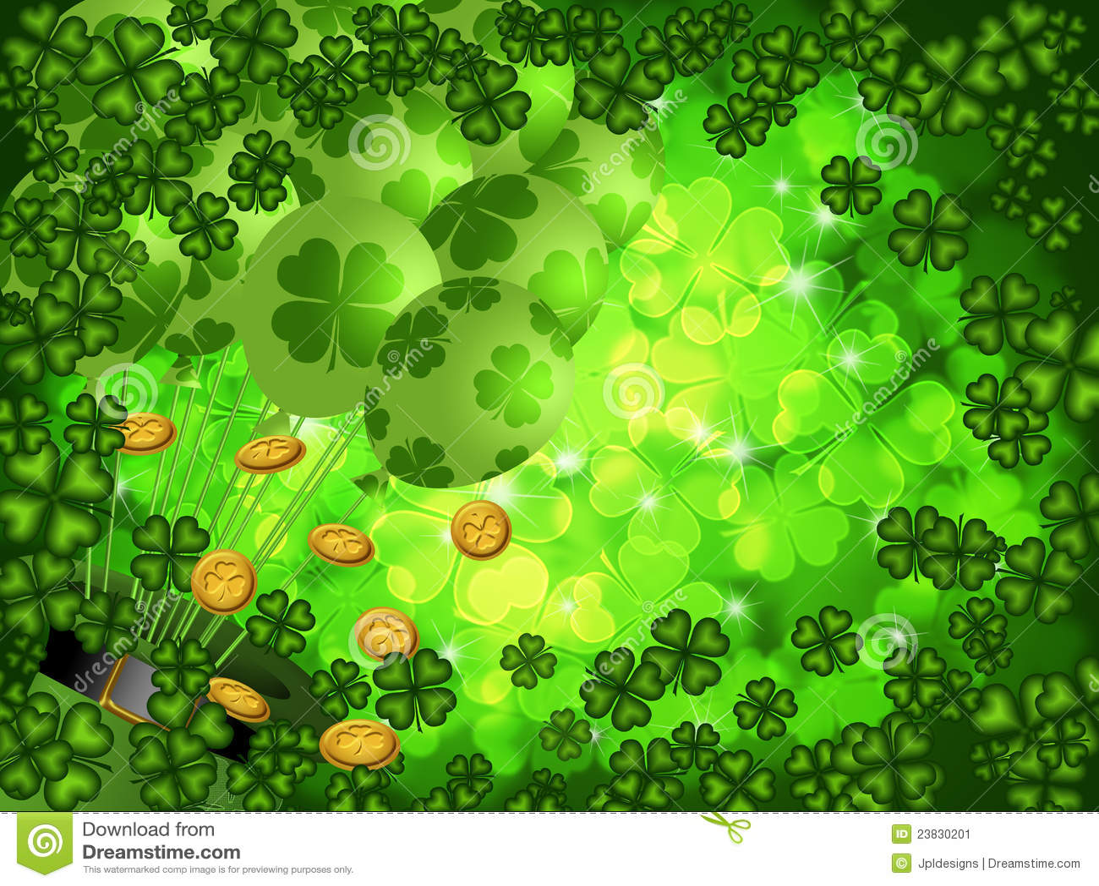 4 clovers and leprechaun in alabama soundboards