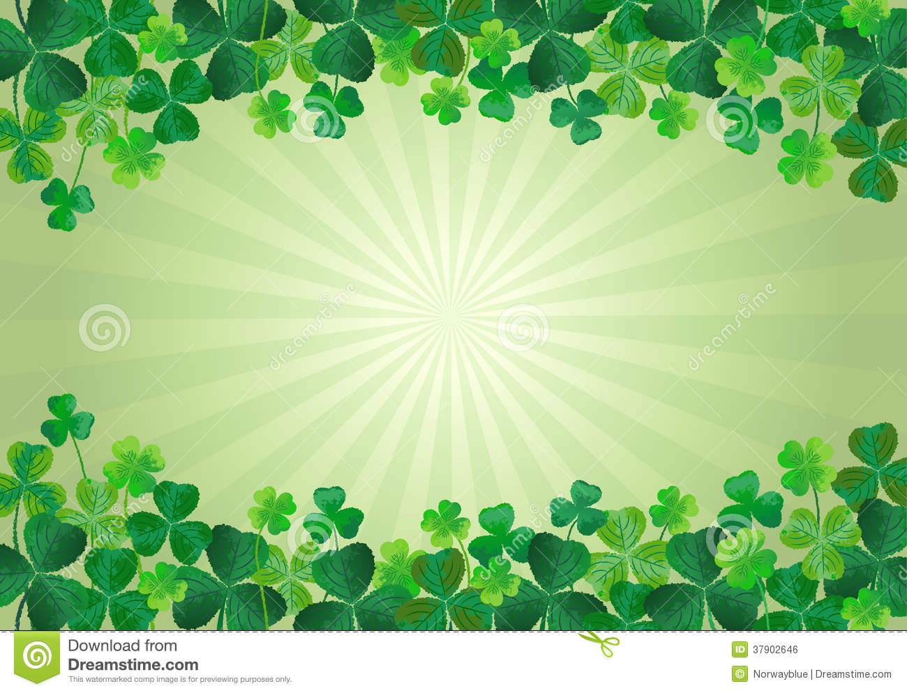 shamrock st patricks day background royalty free stock image