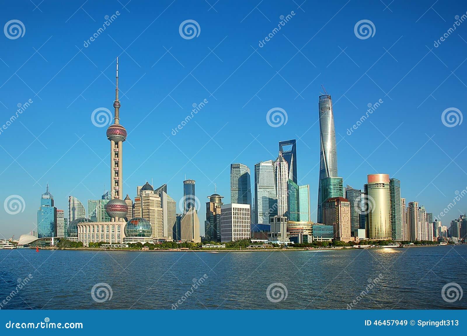 SHANGHAI, CHINA: Walking Around Corridor Inside The ...