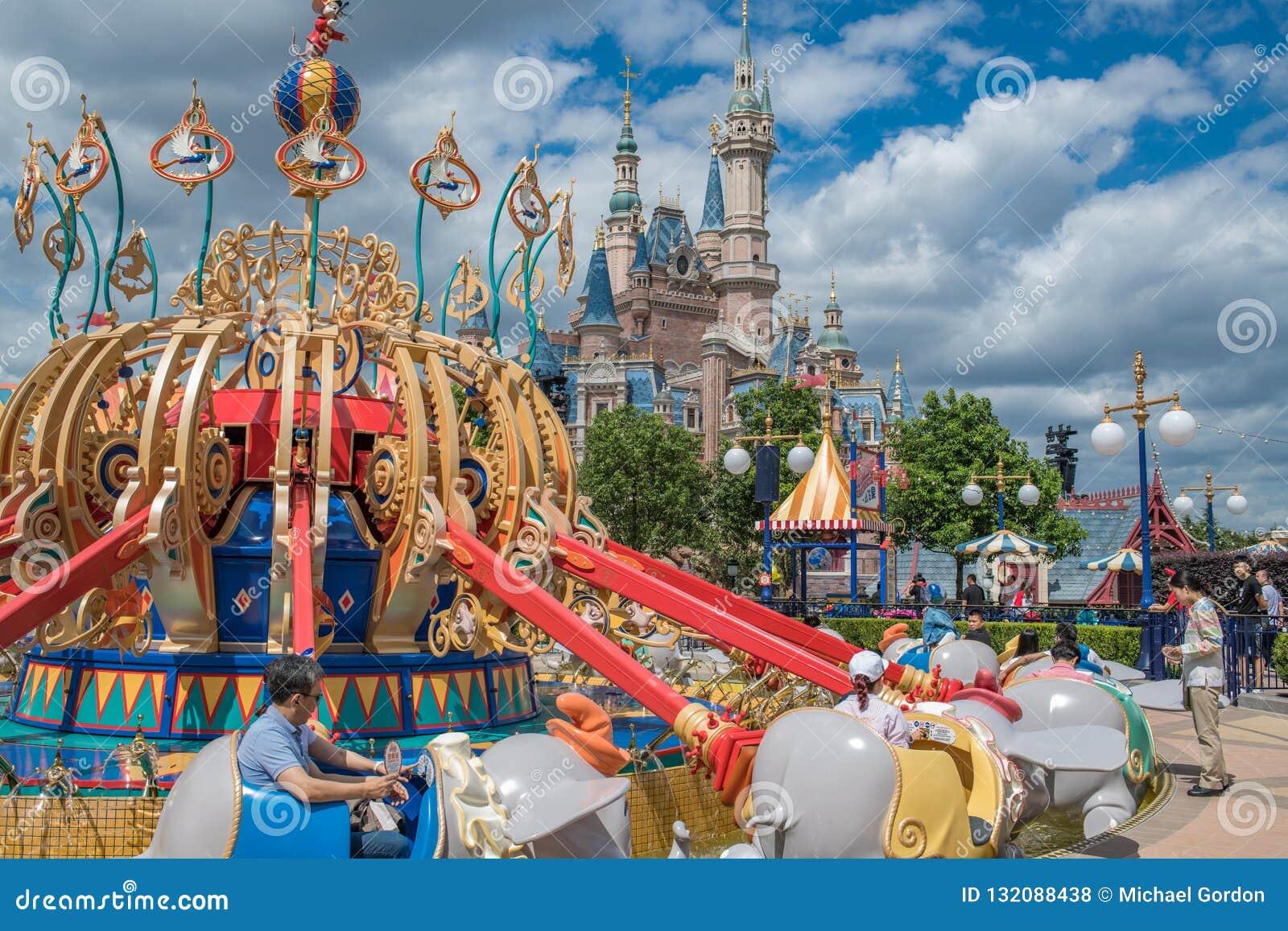 Shanghai Disneyland in Shanghai, China