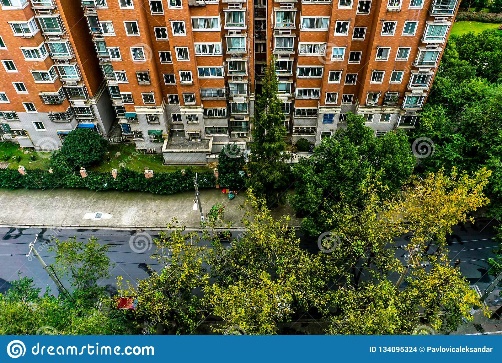 Shanghai Highrise Apartment Building 2